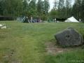 Der erste Zeltplatz