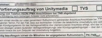 Unitymedia, die Umschaltung